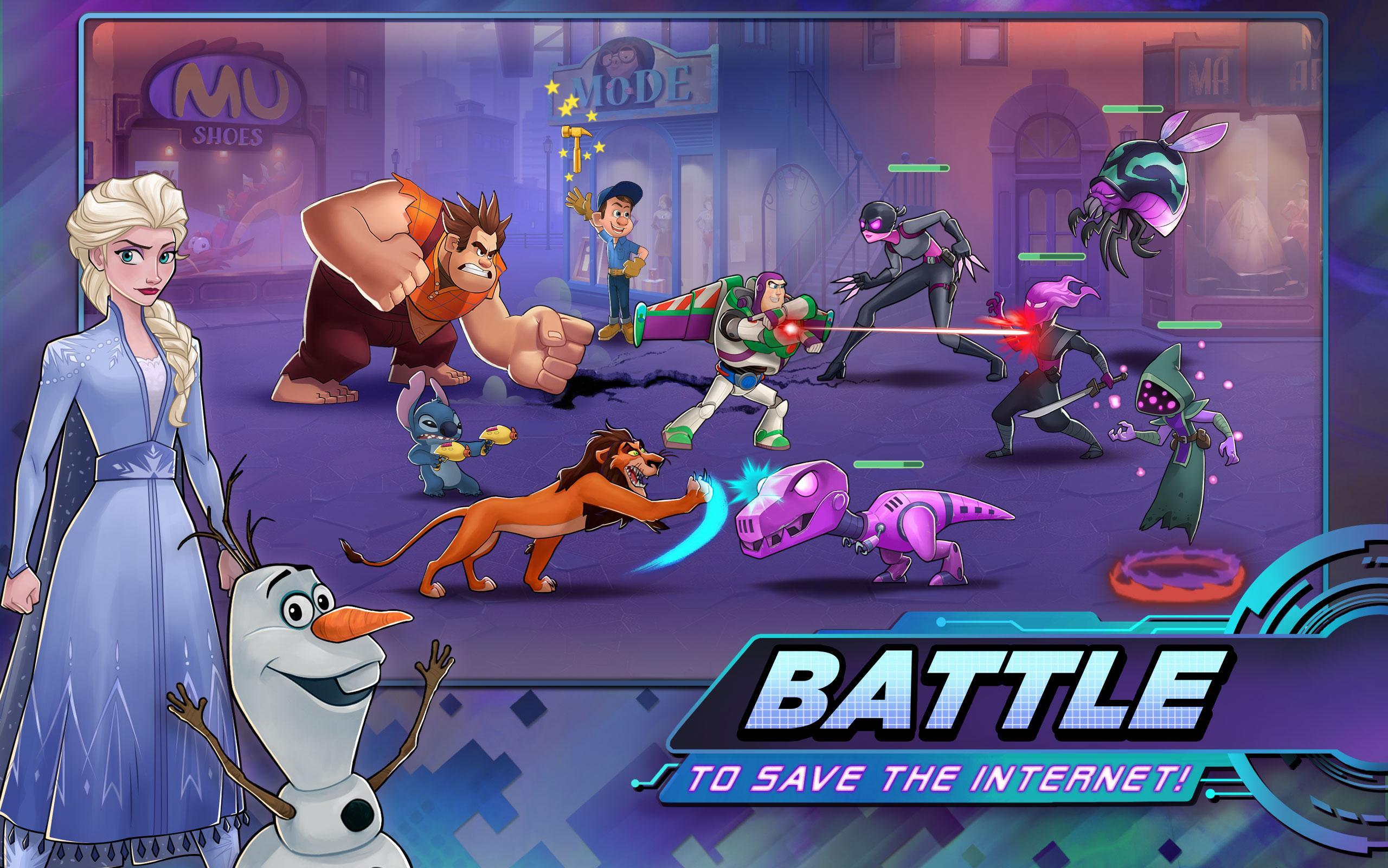 disney heroes battle mode mod apk